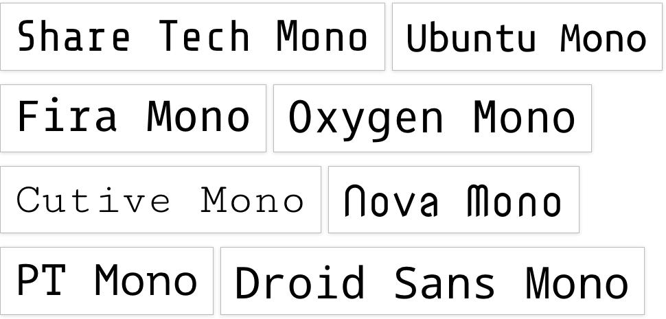 monofont-googlewebfont